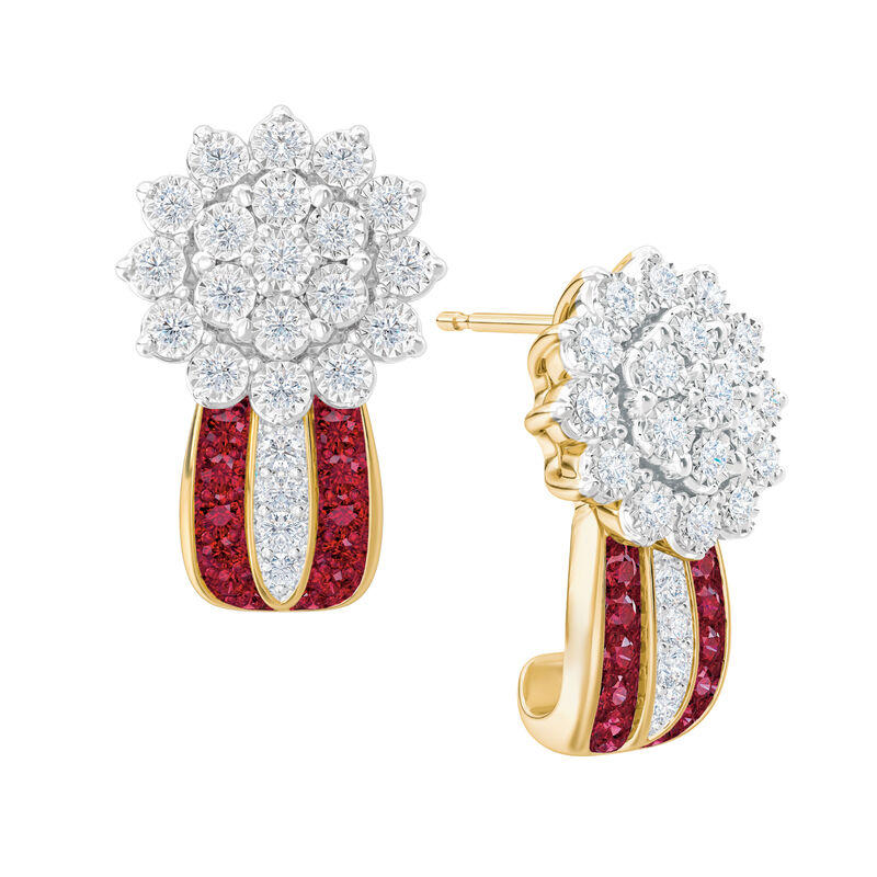 Birthstone Radiance Earrings 5687 0074 g july
