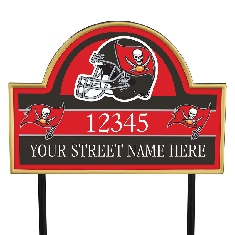 NFL Pride Personalized Address Plaques 5463 0405 a buccaneers