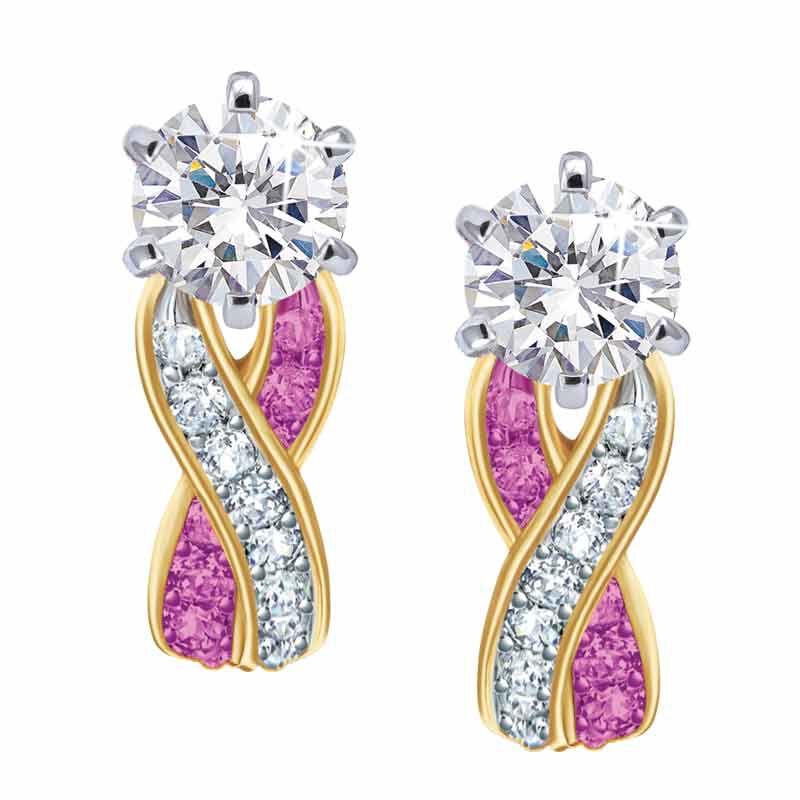 Birthstone Swirl Earrings 5361 014 3 10