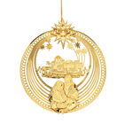 2021 Gold Christmas Ornament Collection 2798 0028 f nativity