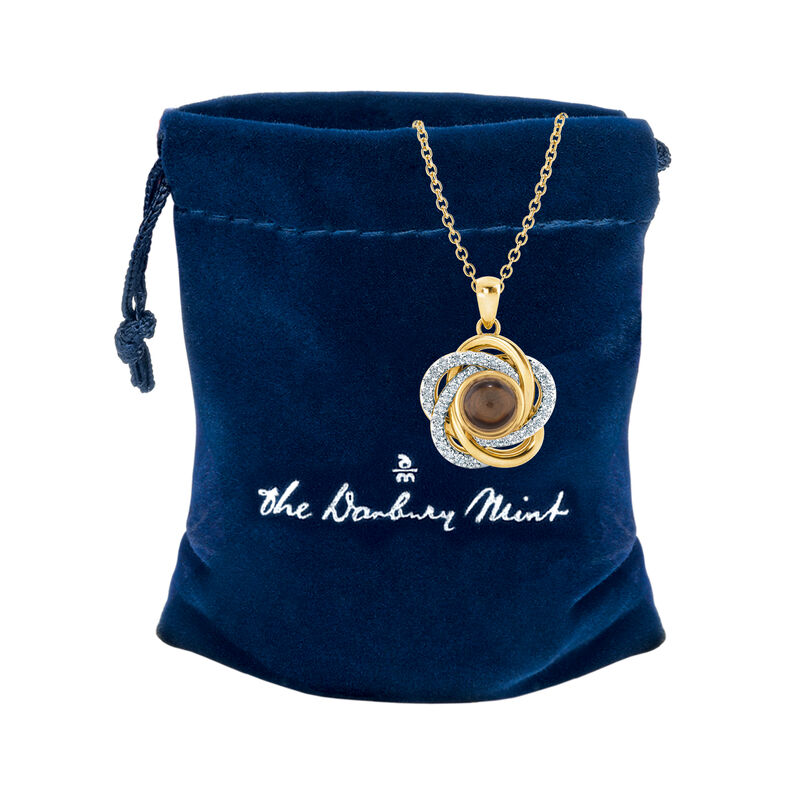 Whispers of Love Secret Message Pendant 10439 0018 g gift pouch
