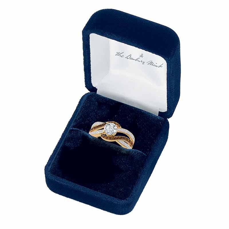 Majestic in Mocha Diamonisse Ring 6380 001 5 2