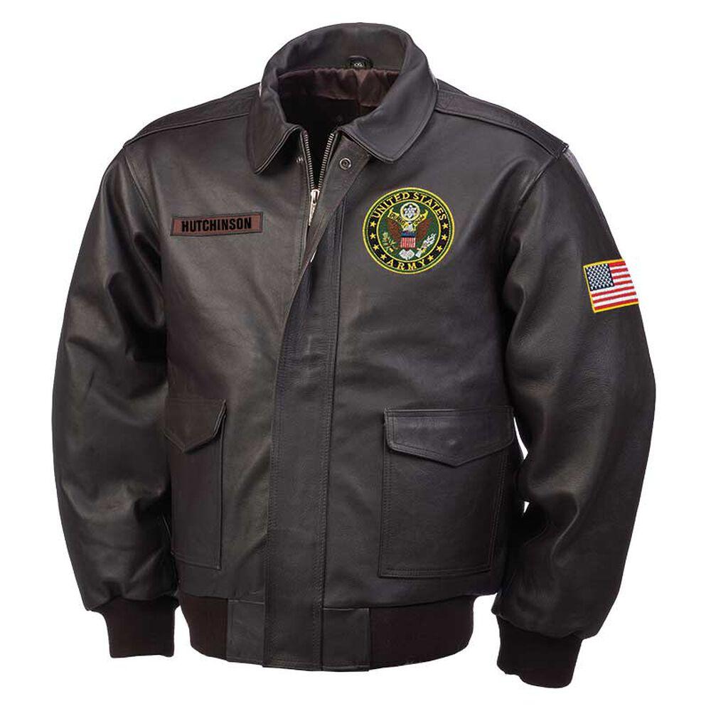 U.S Army Leather Vest