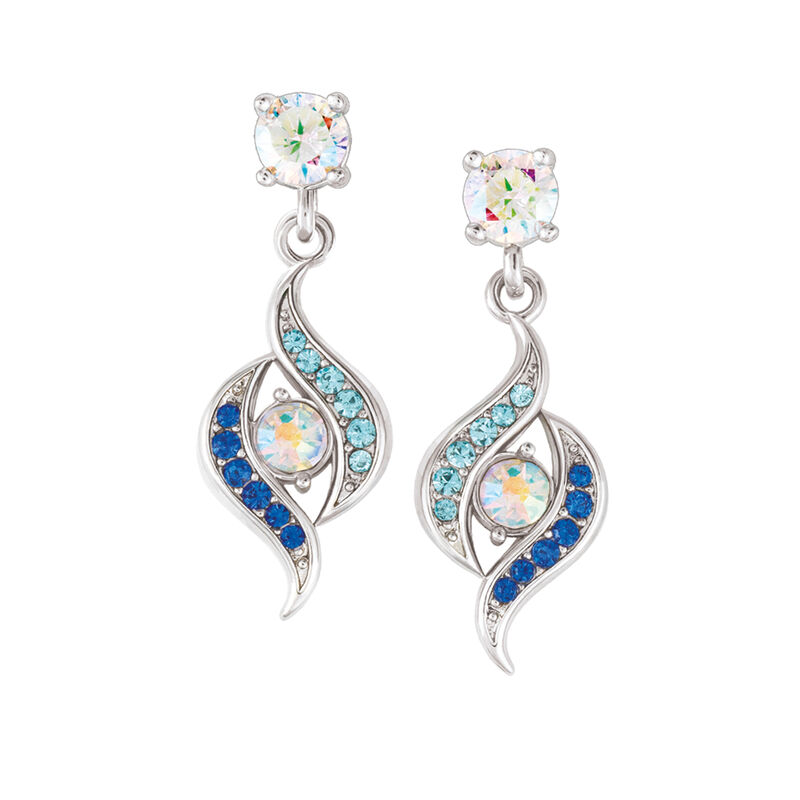 Blue Wave Earring Set 6723 0011 b earringset one