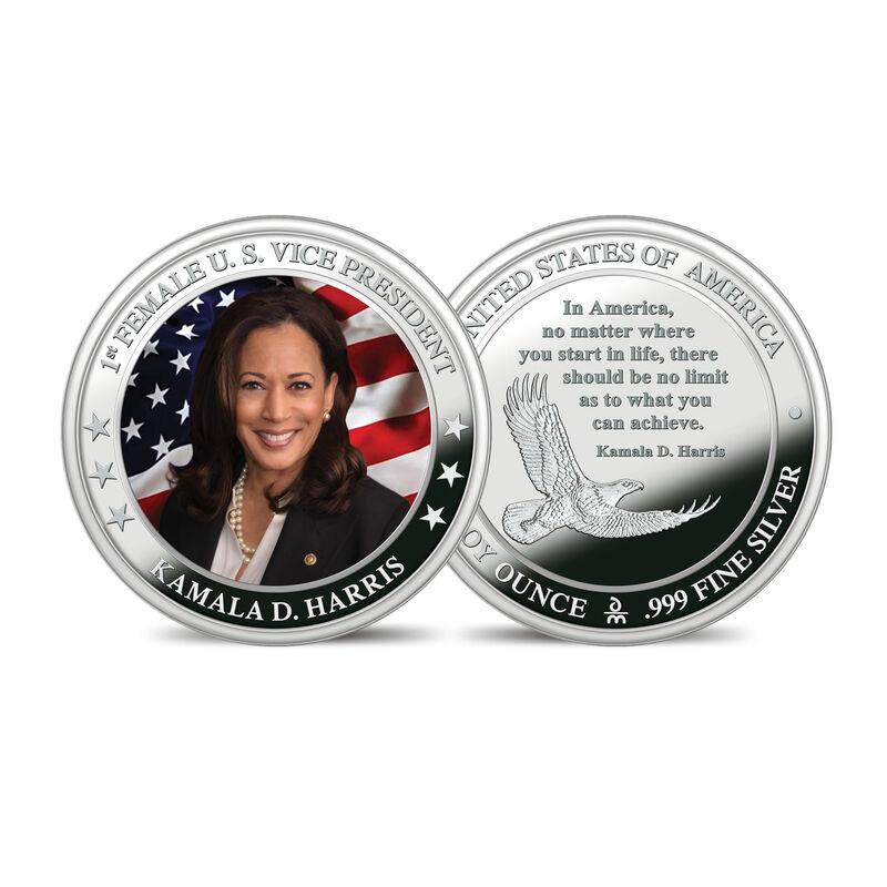 The President Biden and Vice President Harris Silver Bullion Commemorative Set 10236 0013 c harriscommemorative