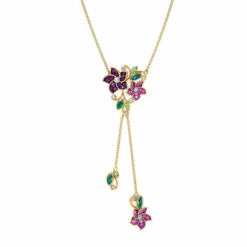 Violets in Bloom Crystal Necklace 2920 001 1 2