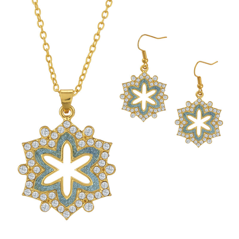 Sparkling Statements Pendant and Earring collection 10028 0015 b january