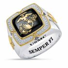 Americas Finest US Marine Corps Ring 6665 004 5 1