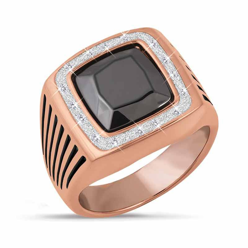 The Natures Power Copper Mens Ring 5459 001 3 1