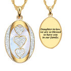 My Daughter in law We are so blessed Diamond Pendant 1484 0060 a main