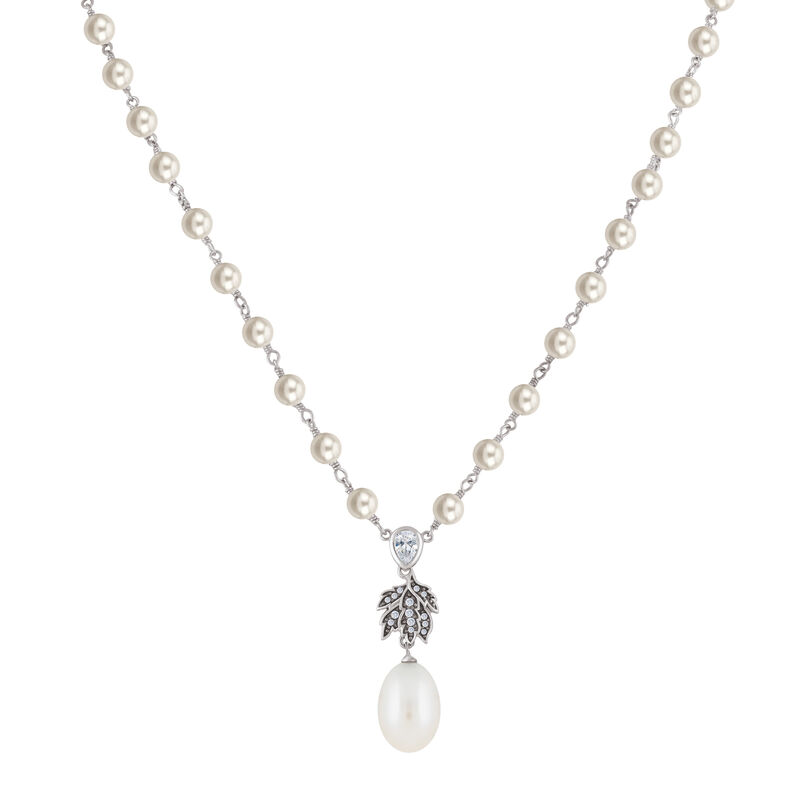 The Wanderer Pearl Necklace 6742 0018 a main