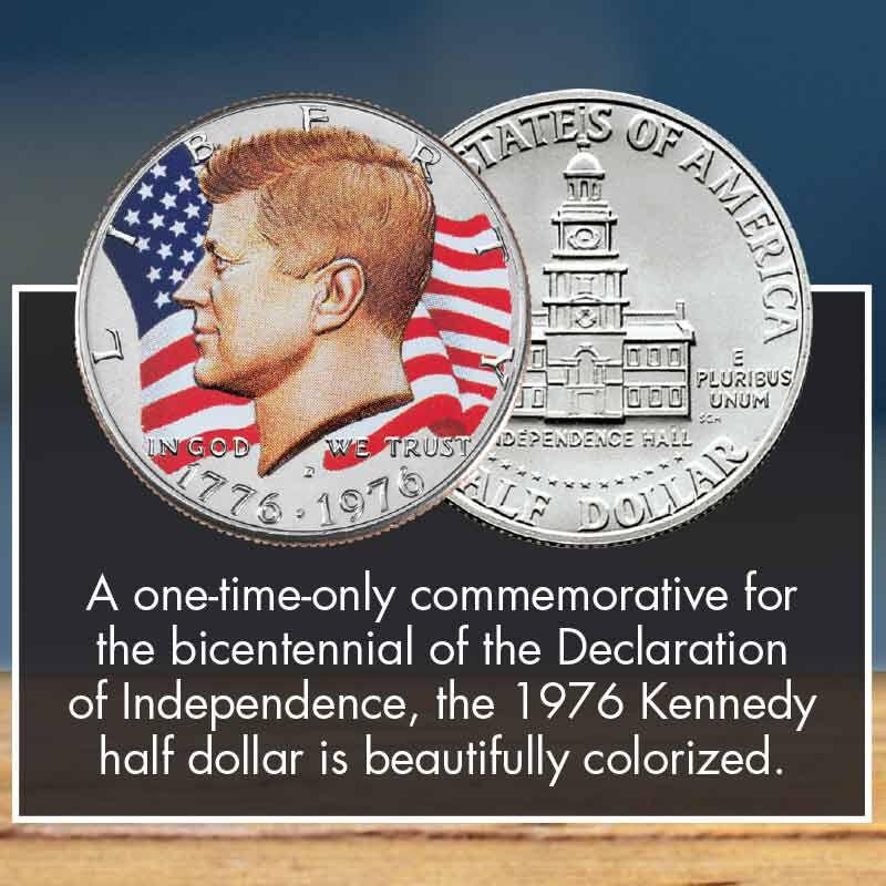 John F Kennedy Half Dollar Collector Set 2158 001 4 3