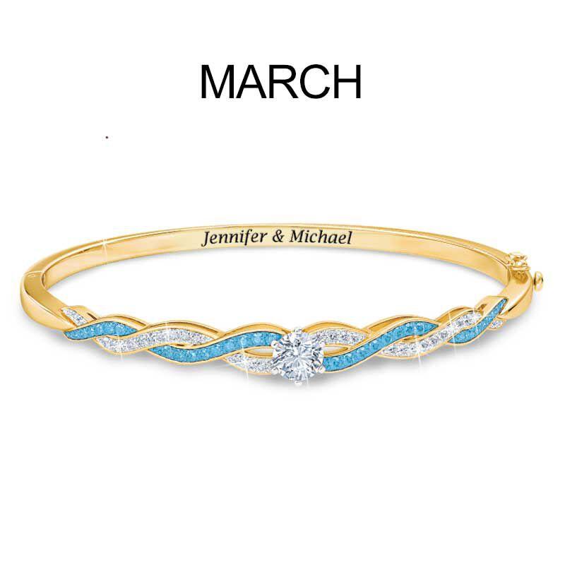 Birthstone Swirl Bracelet 5821 002 2 4