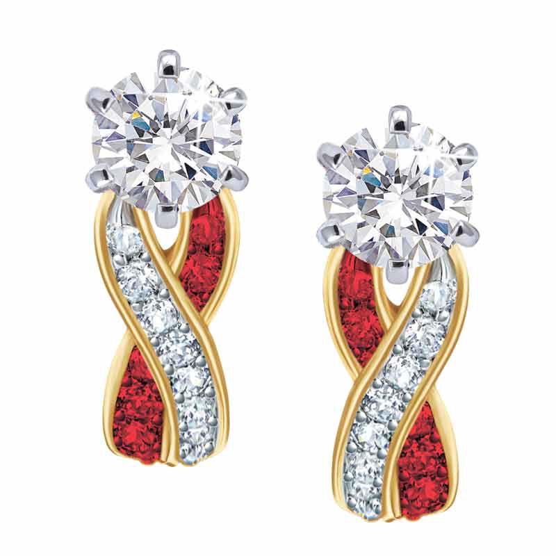 Birthstone Swirl Earrings 5361 014 3 1