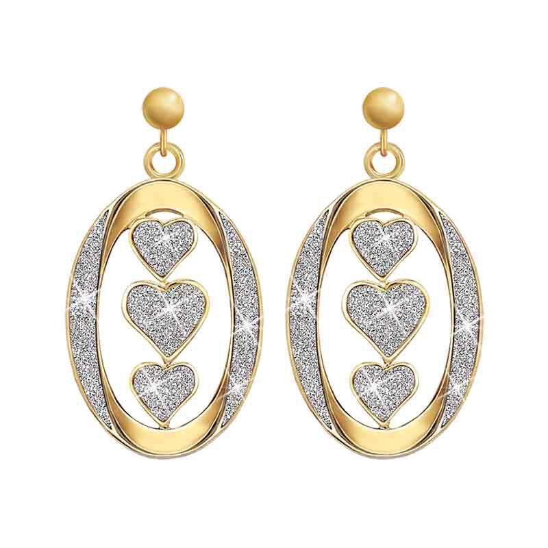 Granddaughter I Love You Diamond Earrings 5185 002 2 1