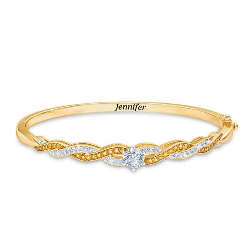 Birthstone Swirl Bracelet 5821 001 4 11