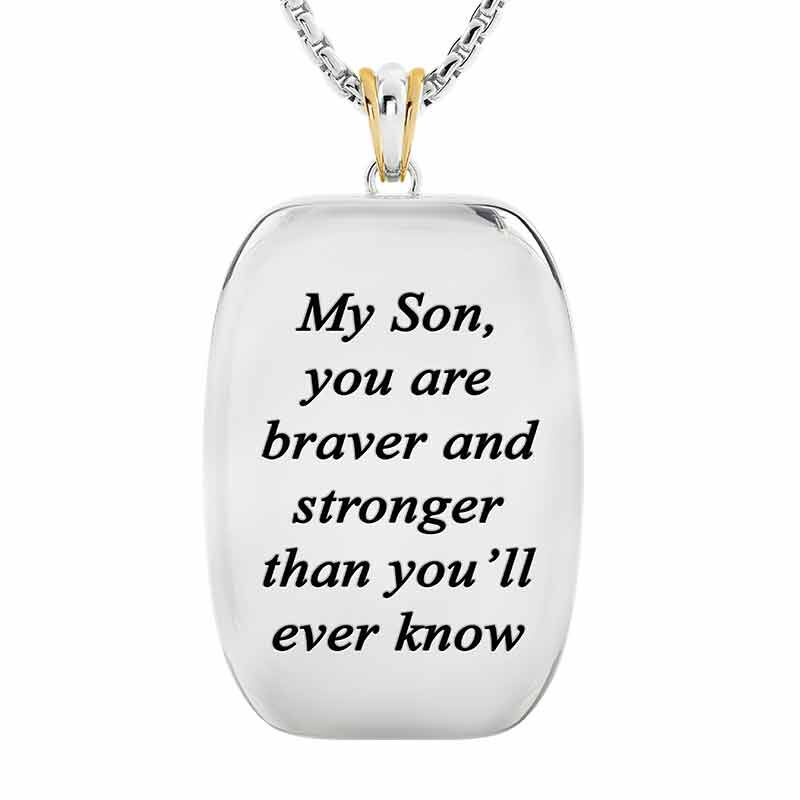 For My Exceptional Son Sapphire Eagle Pendant 6461 001 7 2