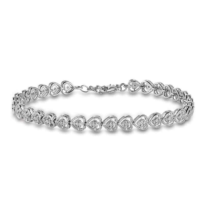 True Love Diamond Bracelet 6147 001 9 1