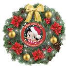 Betty Boop Lit Christmas Wreath 6945 0021 a main
