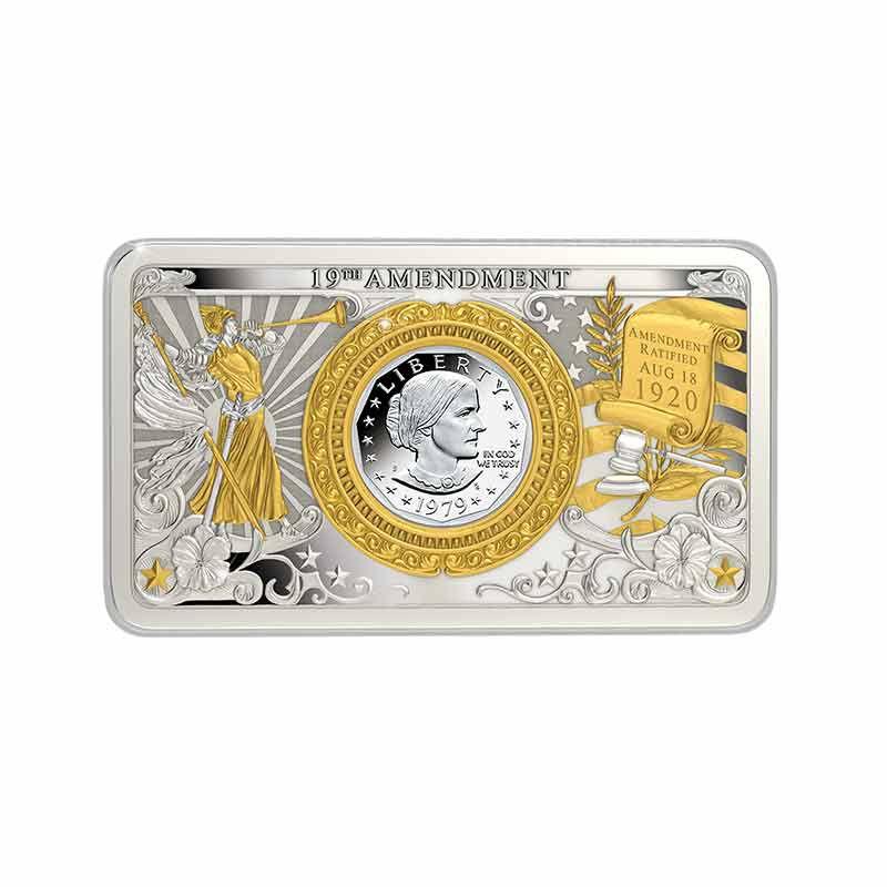 The Susan B Anthony Dollar Commemorative Mint Mark Set 6698 001 2 4
