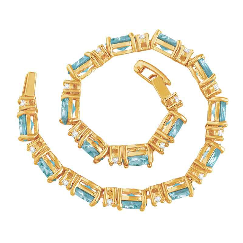 Birthstone Tennis Bracelet 1265 001 6 14