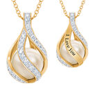 Loves Embrace Pearl Diamond Necklace 10126 0016 a main