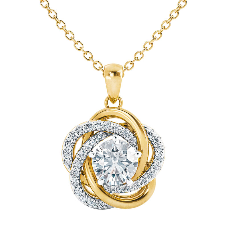 A Forever Bond Love Knot Pendant 10132 0018 b necklace
