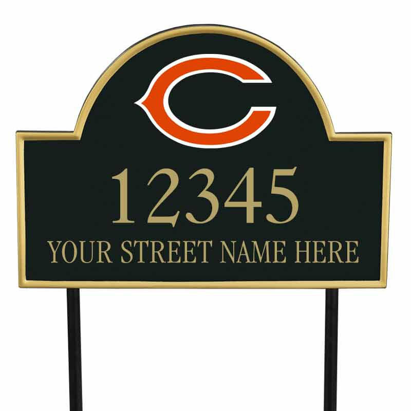 The NFL Personalized Address Plaque 5463 0355 b bears