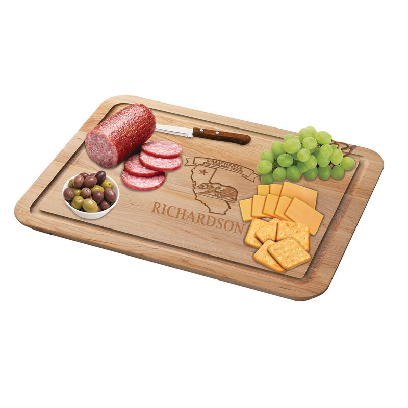 The Personalized State Cutting Board 2416 0020 d meats