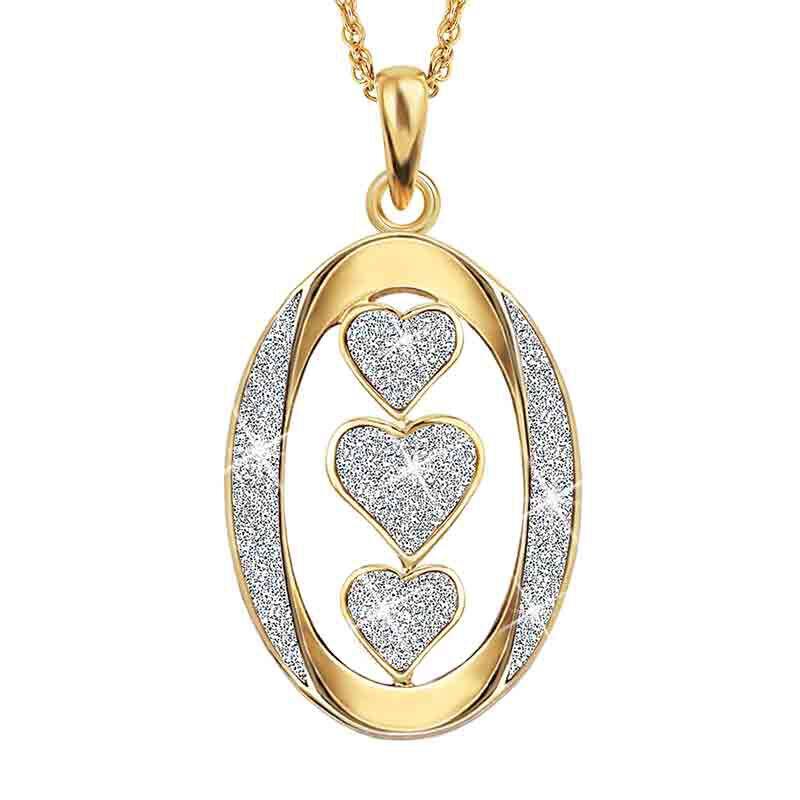 My Sister I Love You Diamond Pendant 1487 001 8 2