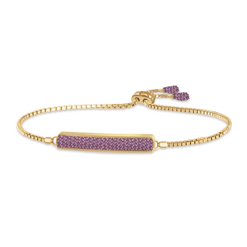 Birthstone Bolo Bracelet 6501 0027 f june