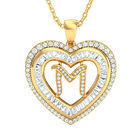 Initial Heart Pendant 10383 0014 d initial m