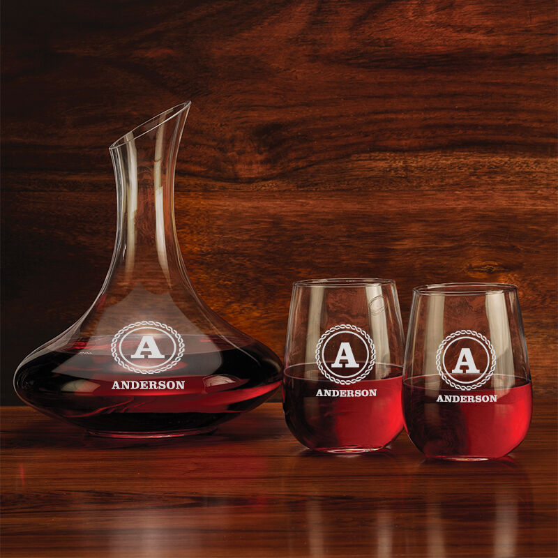 The Personalized Wine Decanter Set 5668 001 0 3
