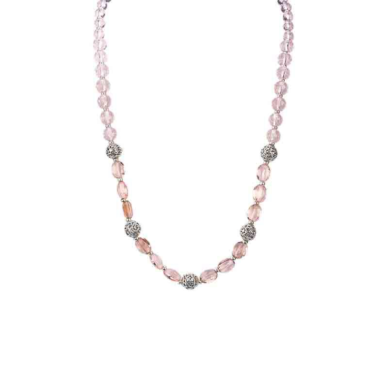 Four Seasons Crystal Necklace Set 1754 001 4 3