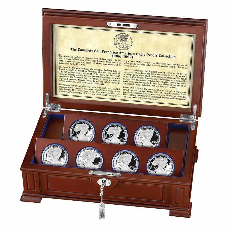 The Legendary Seven   The San Francisco Silver Eagles Proofs 5414 001 7 5