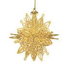 2021 Gold Christmas Ornament Collection 2798 0028 i snowflake