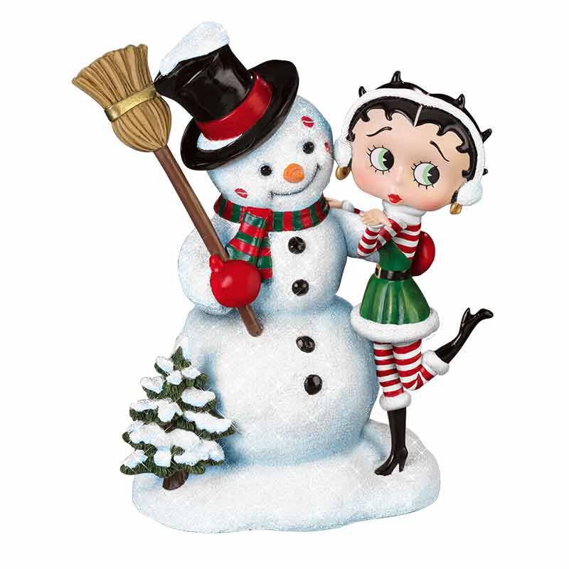 Betty Boop Snow Kissed 2553 001 5 3