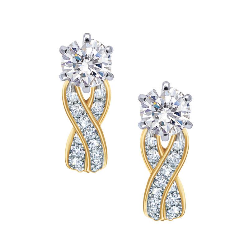 Birthstone Swirl Earrings 6243 0038 d april
