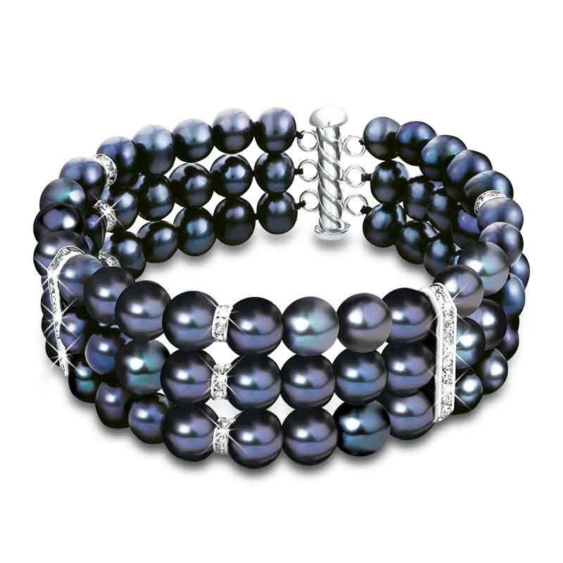 Midnight Spell Deluxe Pearl Bracelet 1333 029 5 1