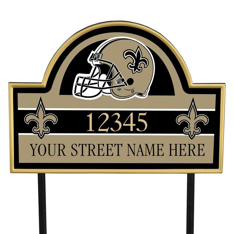 NFL Pride Personalized Address Plaques 5463 0405 a saints