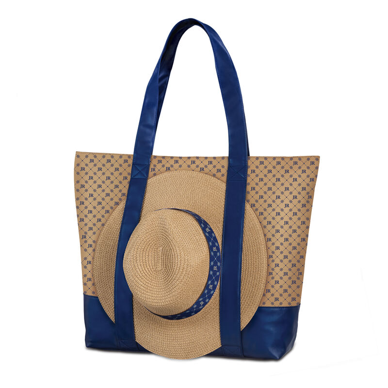Personalized Monogram Tote and Sun Hat Set 10432 0015 a main