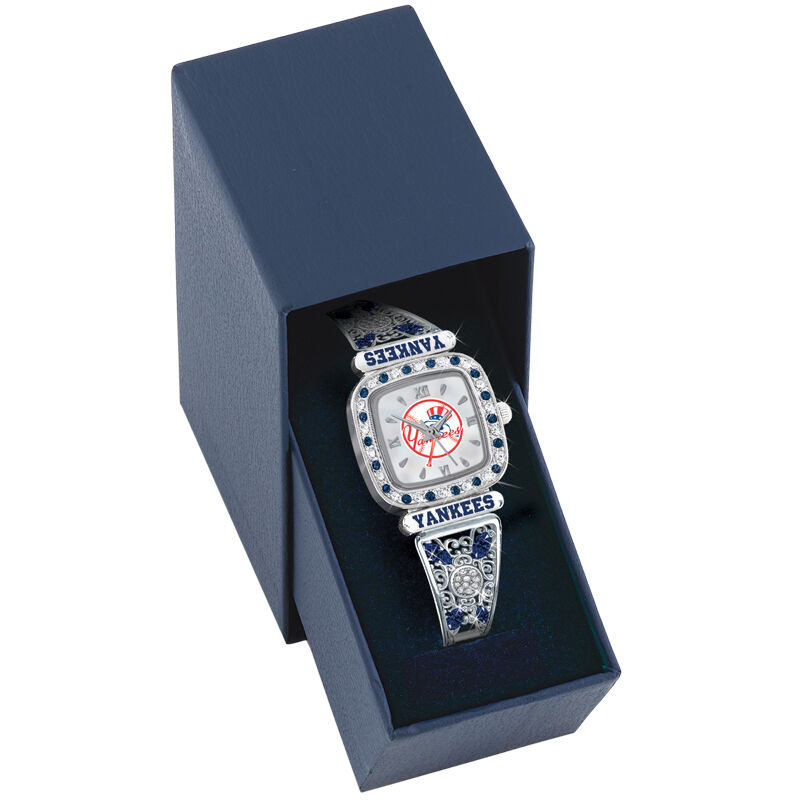New York Yankees Womens Stretch Watch 4576 004 8 2