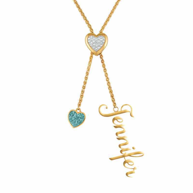 Daughter Personalized Birthstone Bolo Necklace 6525 001 1 11