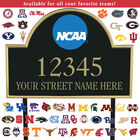 The College Personalized Address Plaque 5716 0384 a main