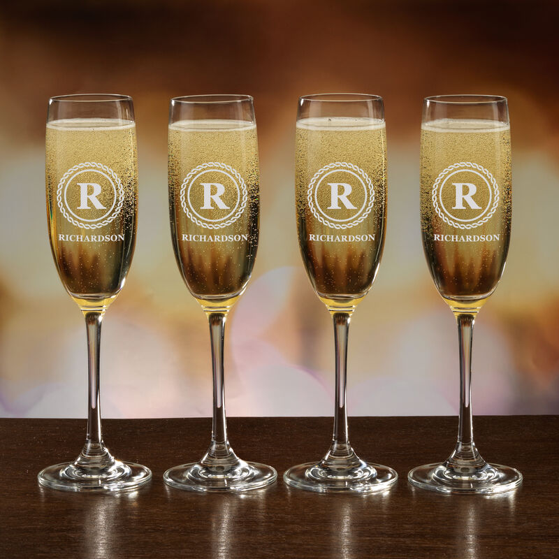 The Personalized Champagne Flutes 10036 0031 b glass