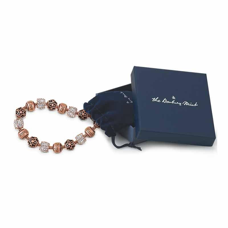 Natures Flourish Copper Charm Bracelet 5286 001 2 3
