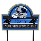 NFL Pride Personalized Address Plaques 5463 0405 a panthers