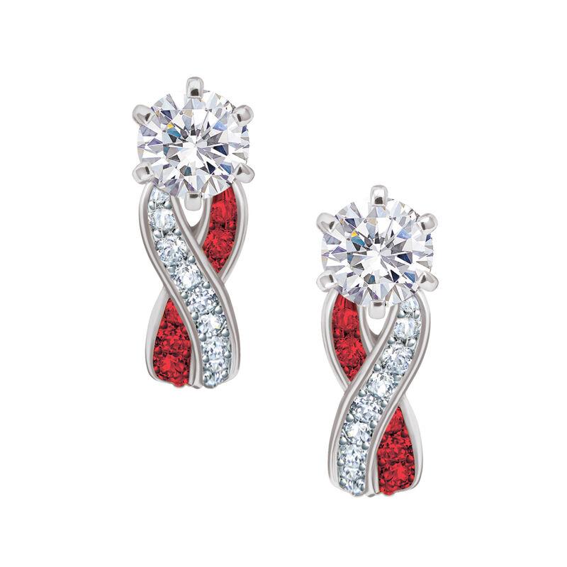 Birthstone Swirl Earrings 6366 0021 a main