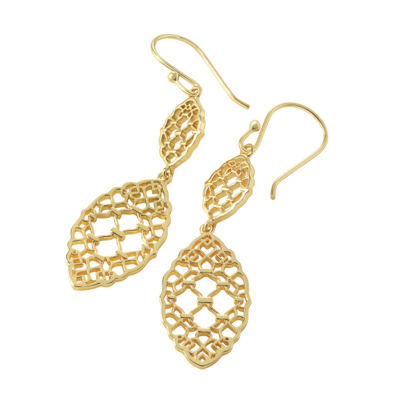 Golden Essentials Earrings Collection 10171 0010 e earring four