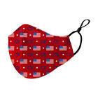 Land of the Free Face Masks 10022 0029 f red